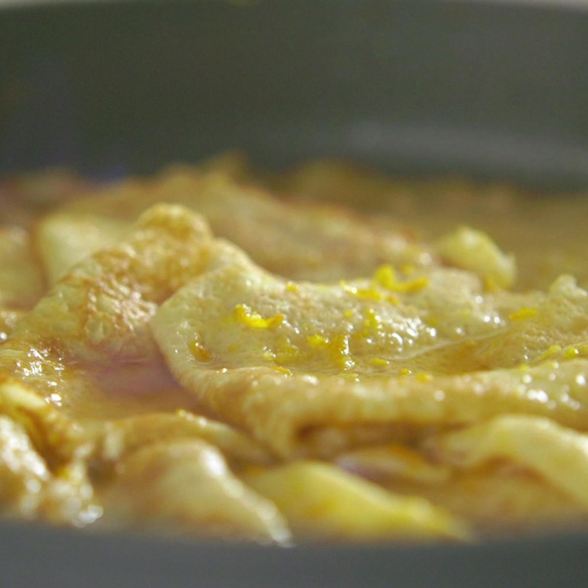 A picture of Delia's Crepes Suzette recipe
