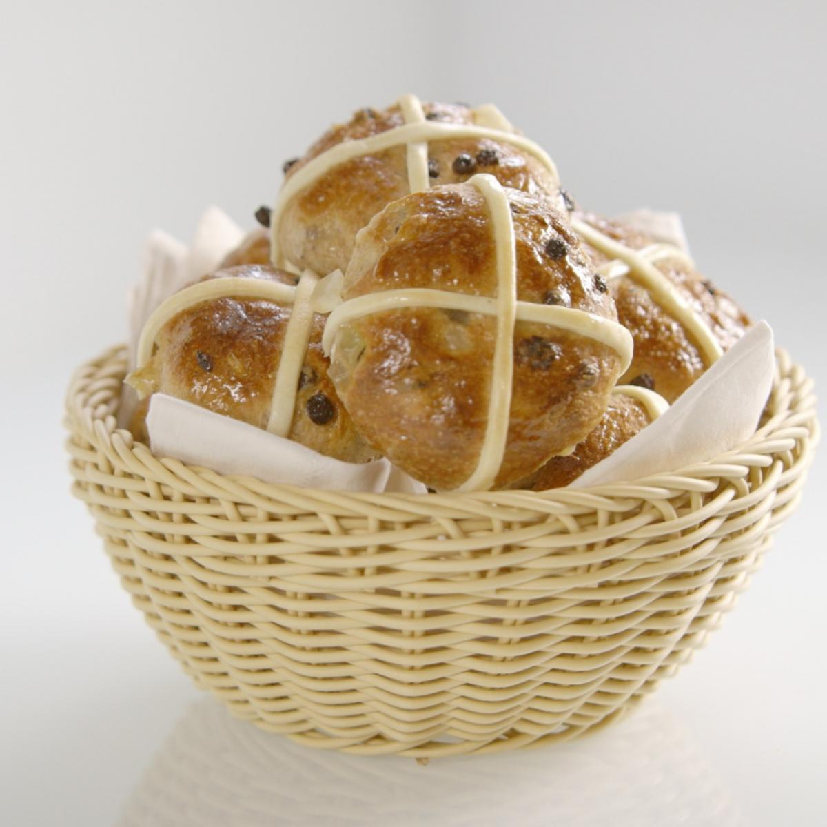 A picture of Delia's Hot Cross Buns recipe