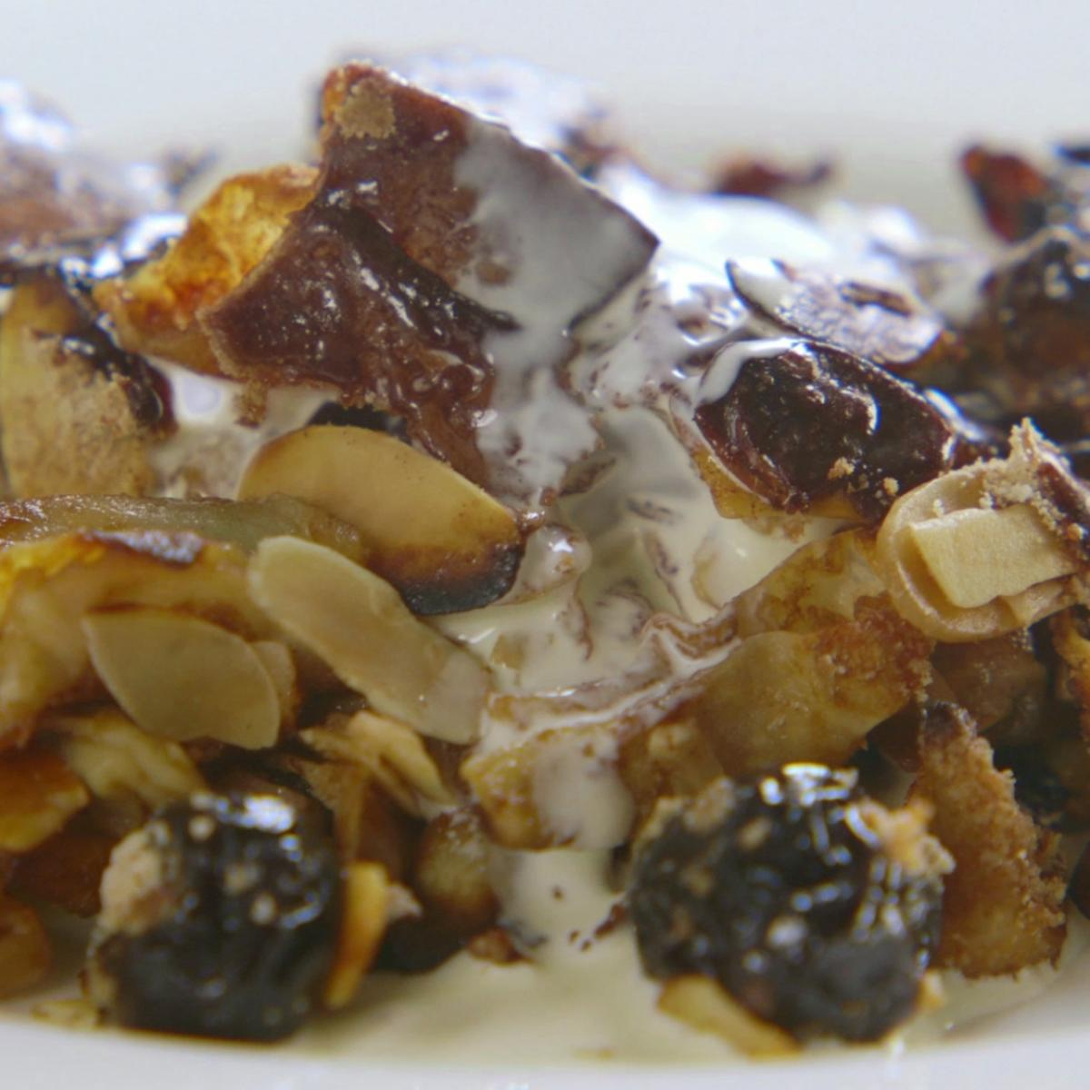 A picture of Delia's Kaiserschmarrn recipe