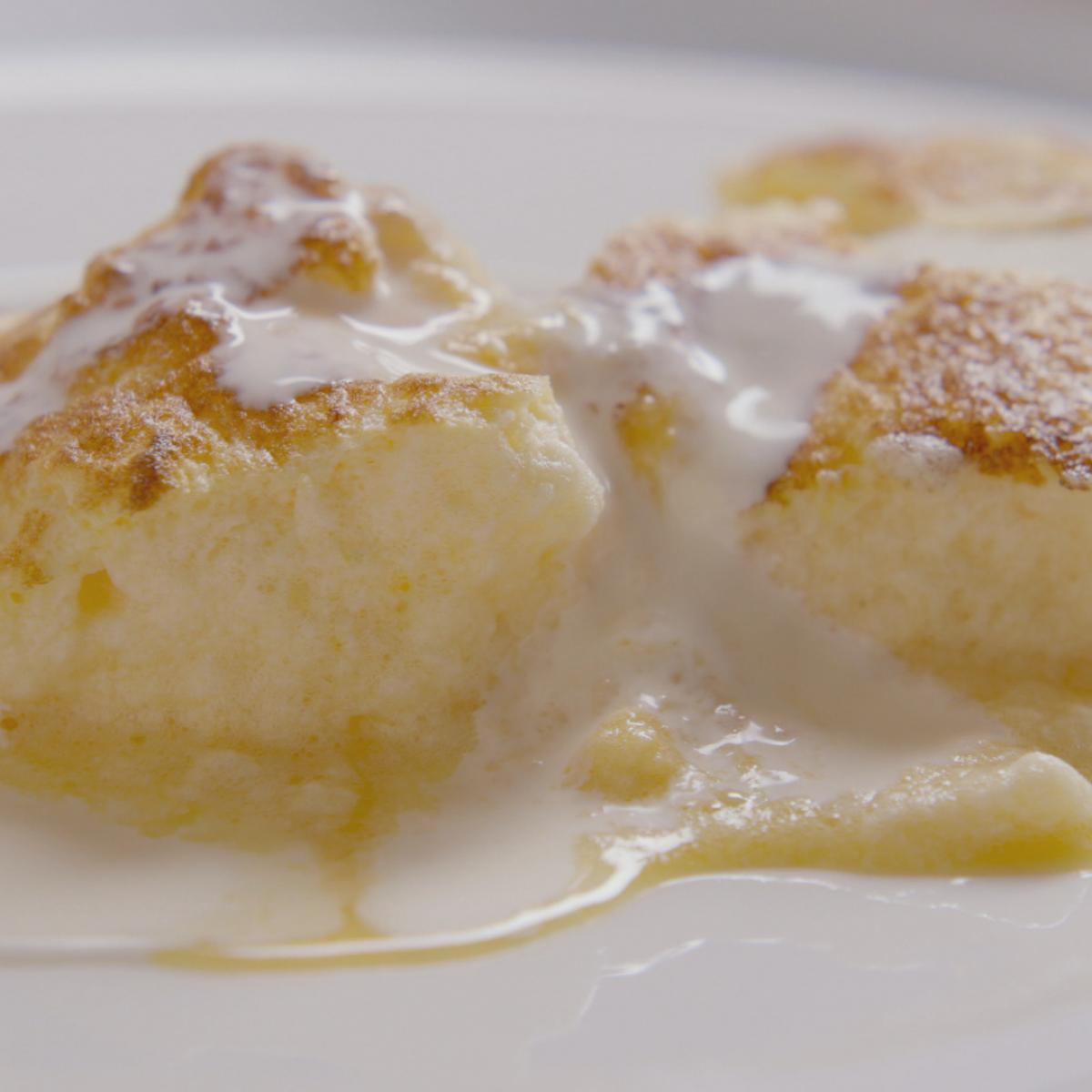 A picture of Delia's Lemon Curd Souffle Omelette recipe