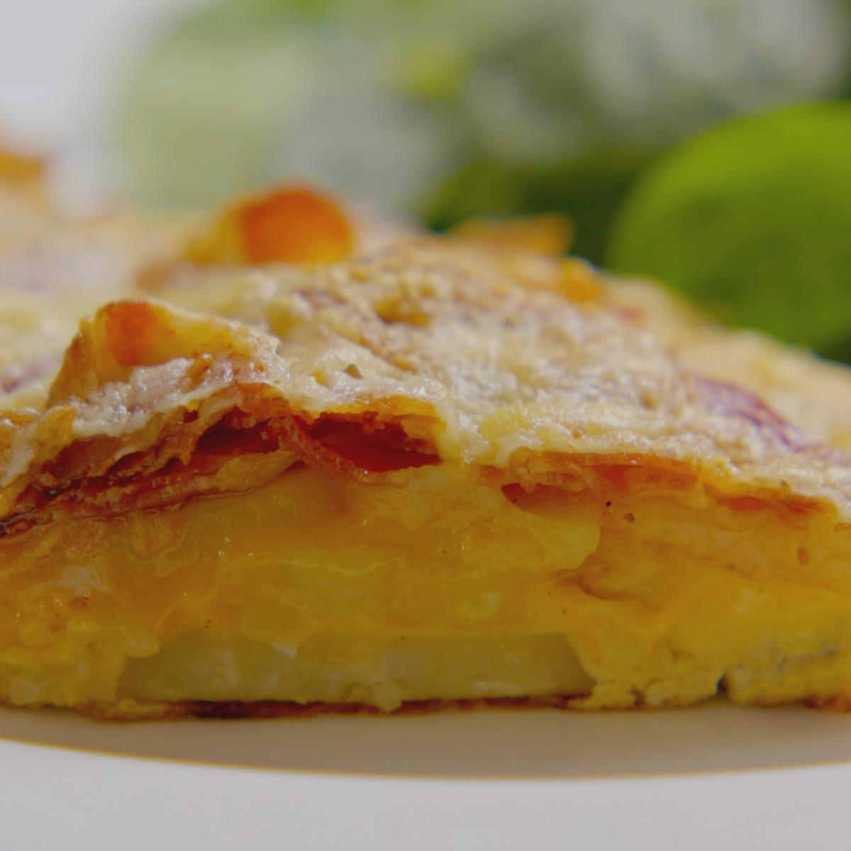 A picture of Delia's Omelette Savoyard recipe