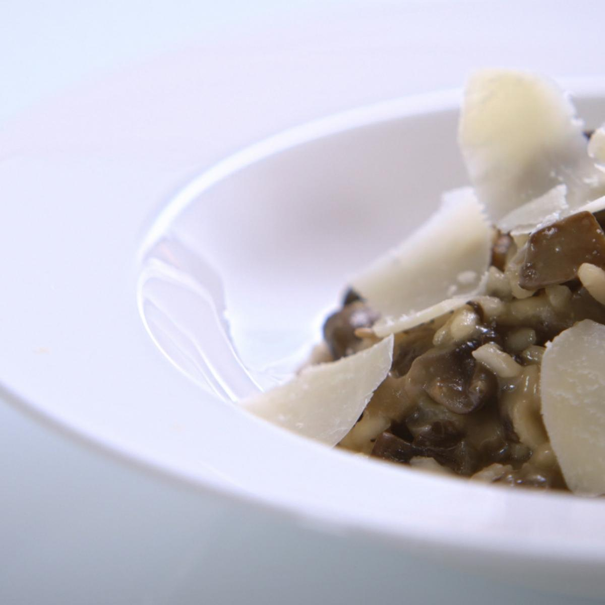 A picture of Delia's Oven-baked Wild Mushroom Risotto recipe