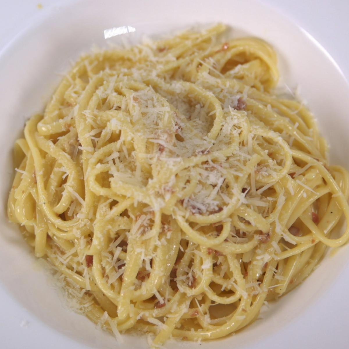 A picture of Delia's Pasta alla Carbonara recipe