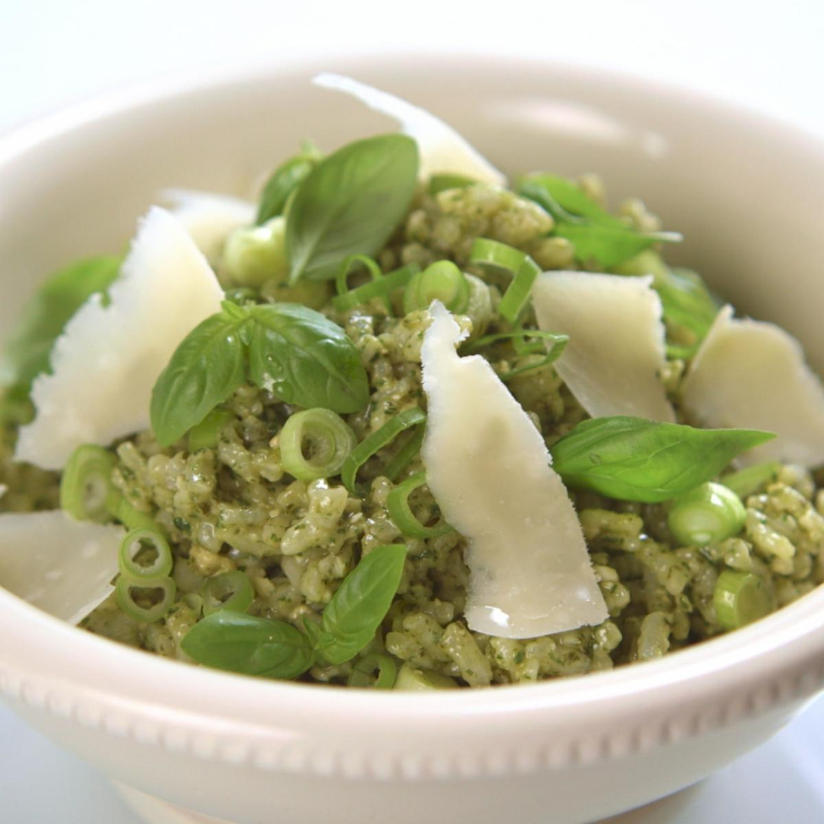 A picture of Delia's Pesto Rice Salad recipe