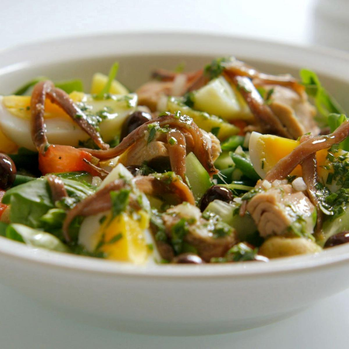 A picture of Delia's Salade Nicoise recipe
