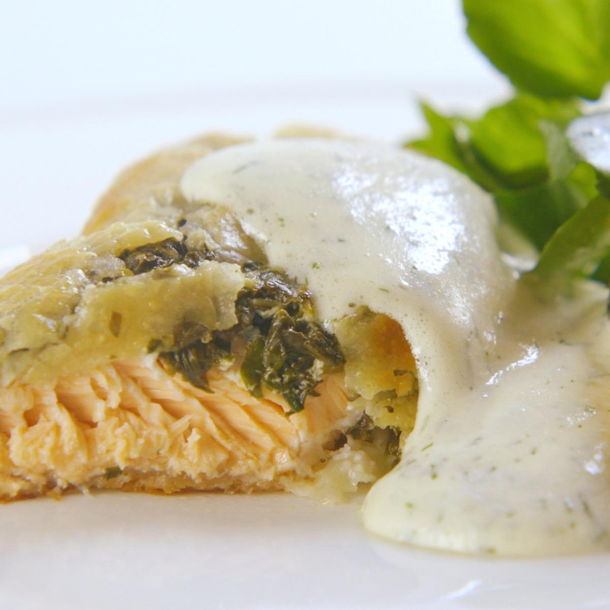 A picture of Delia's Salmon en Croute recipe