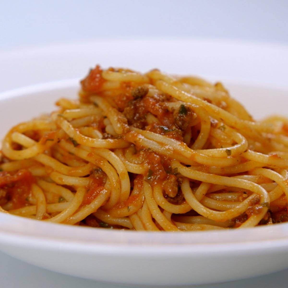A picture of Delia's Spaghetti Bolognese recipe