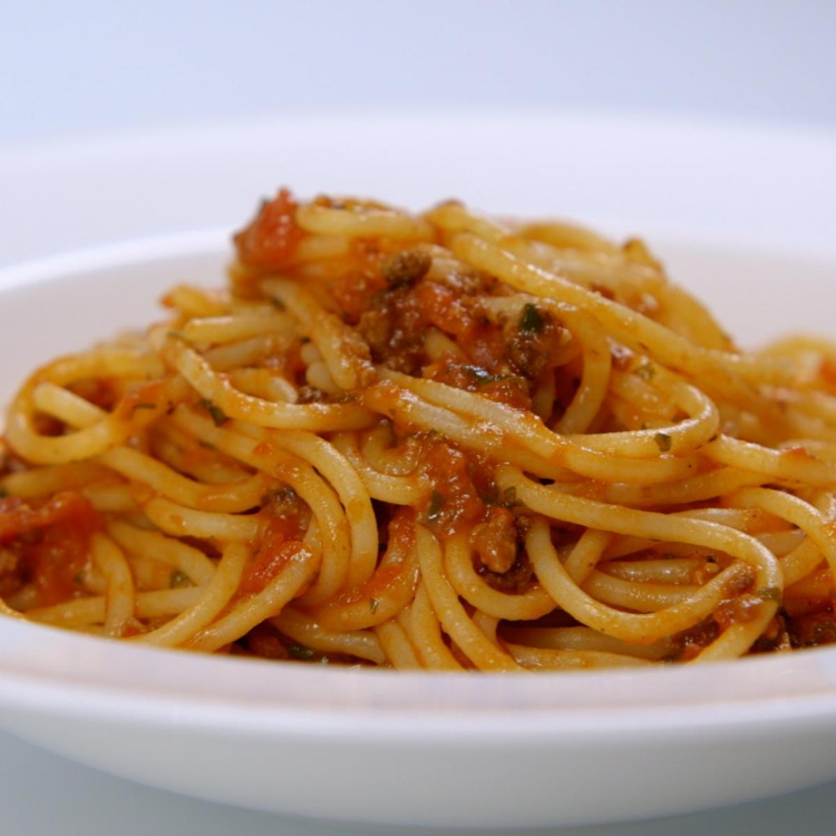 Cs spaghetti bolognese