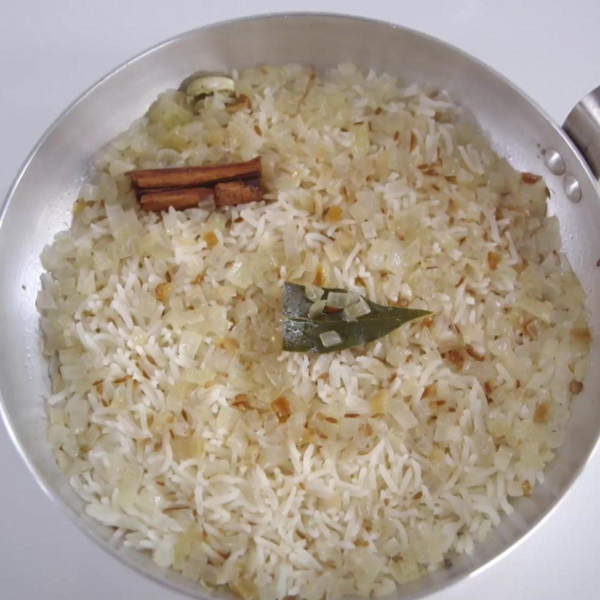 A picture of Delia's Spiced Pilau Rice recipe