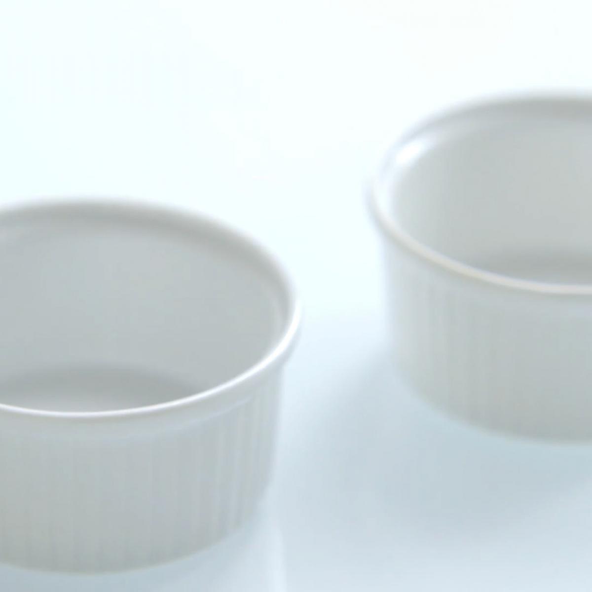 Equipment ramekins and souffle dishes