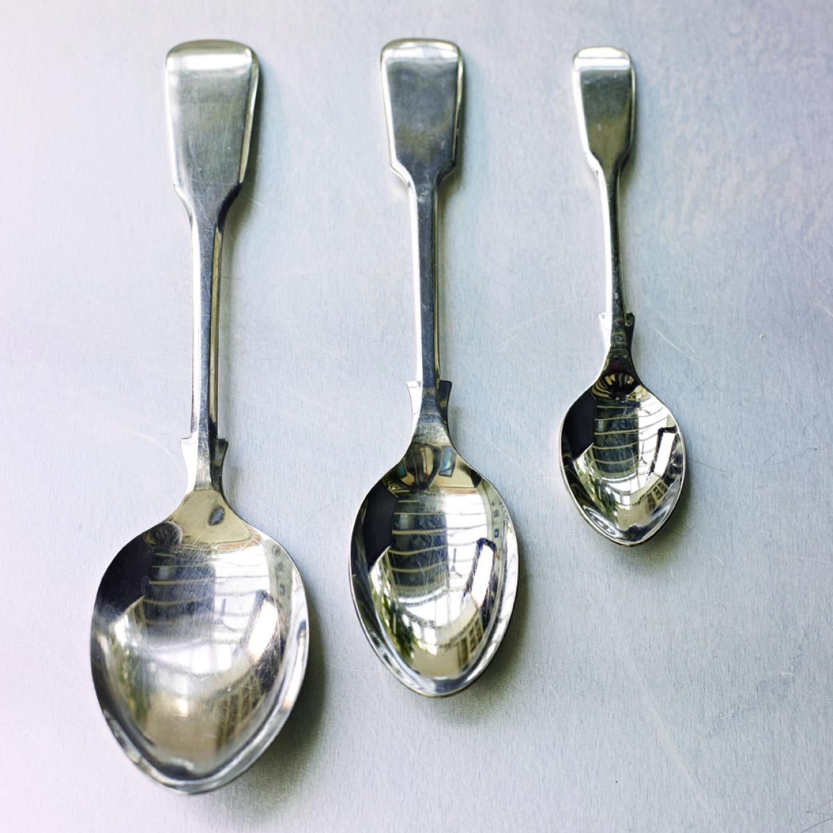 Equipment spoons