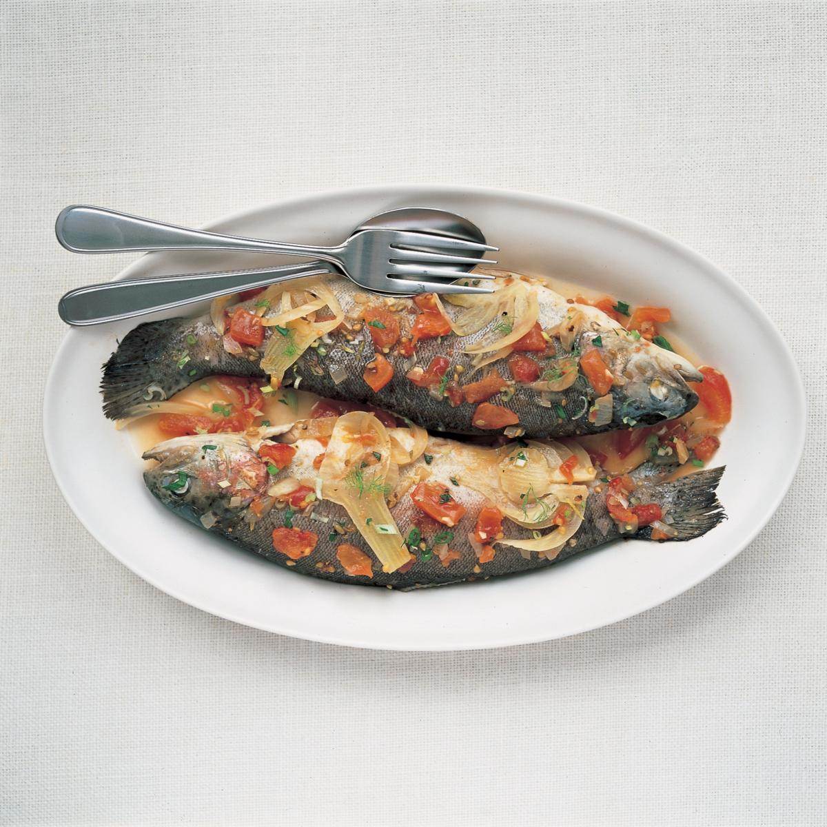 A picture of Delia's Fish without fear how to cook guide