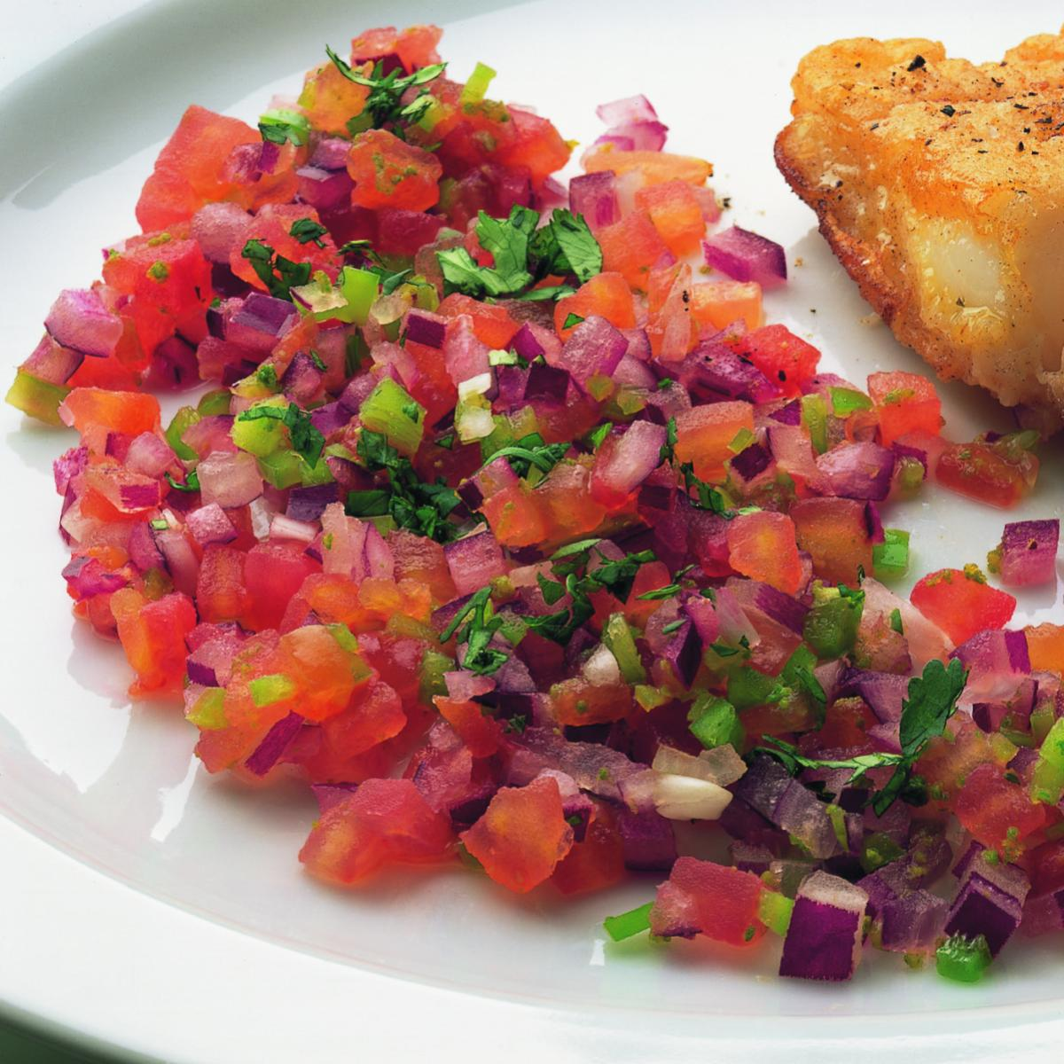 Fish mexican tomato salsa