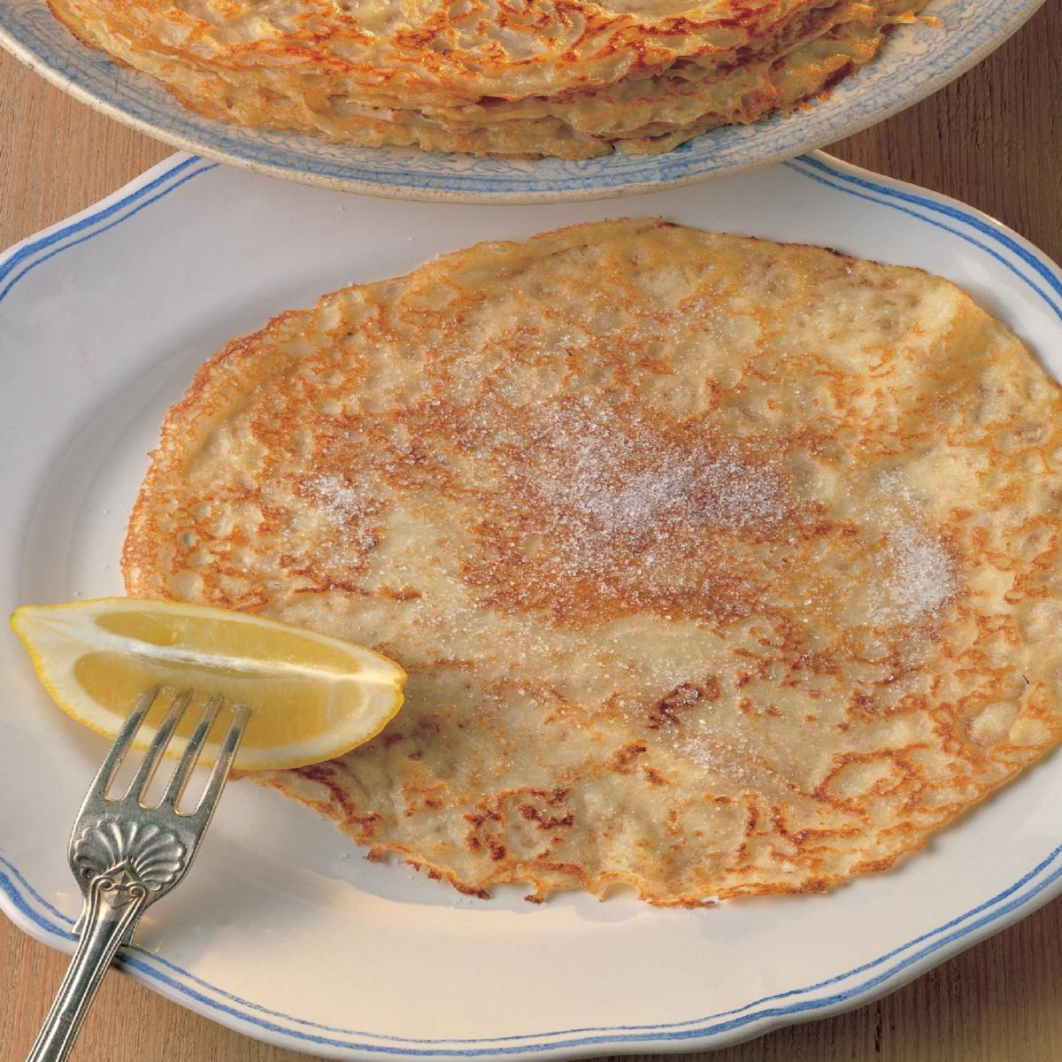 A picture of Delia's Basic Pancakes recipe