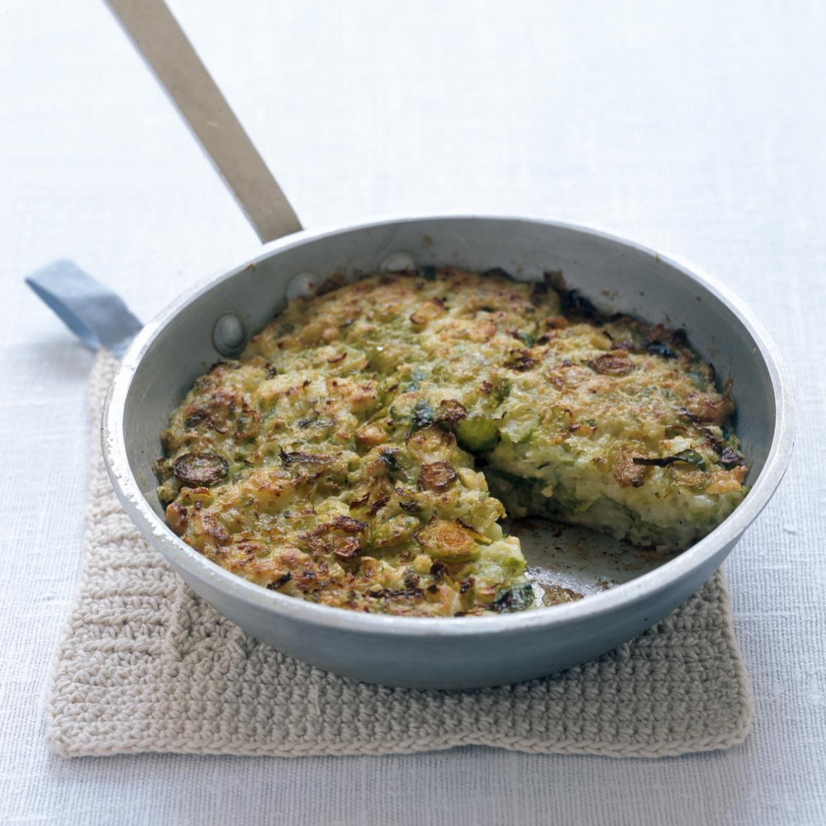 A picture of Delia's Brussels Bubble-and-Squeak recipe