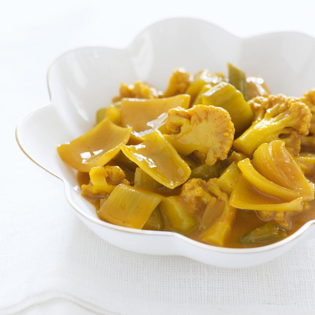 A picture of Delia's English Mustard Pickle (Piccalilli) recipe