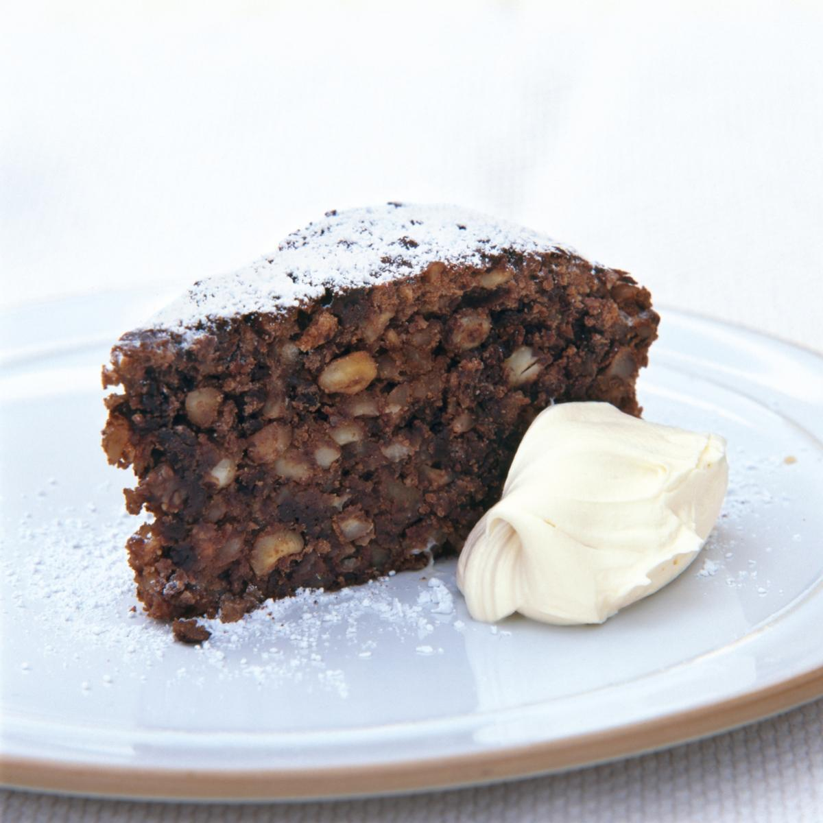 Italian Chocolate Nut Christmas Cake Recipes Delia Online