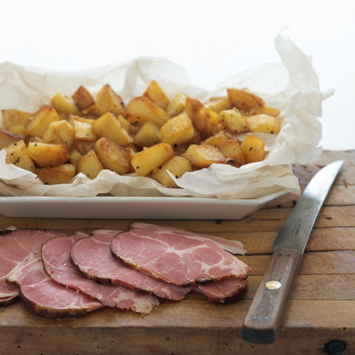 A picture of Delia's Michael's Chunky Sauté Potatoes in Turkey Dripping recipe
