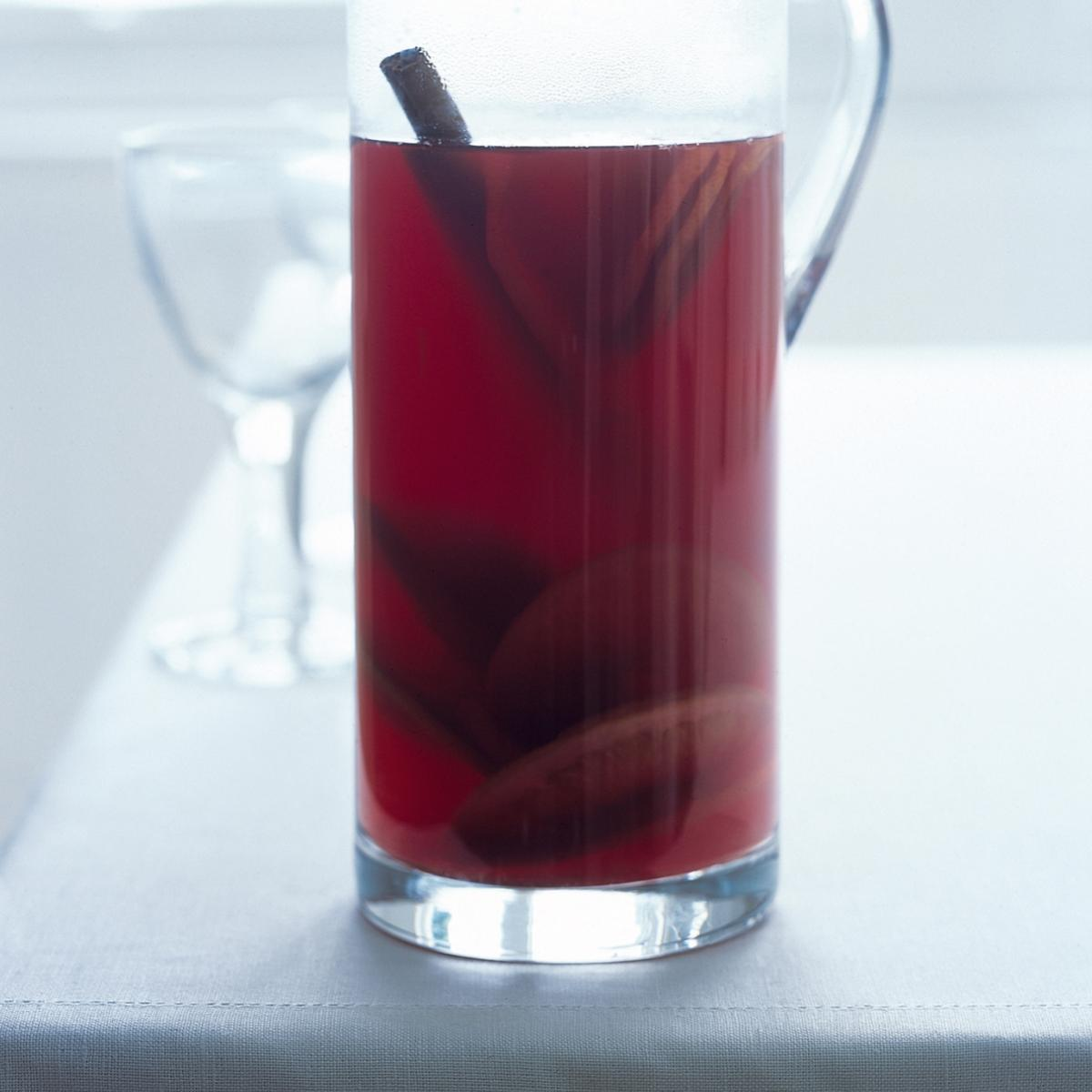 A picture of Delia's Mulled 'Wine' for Drivers recipe