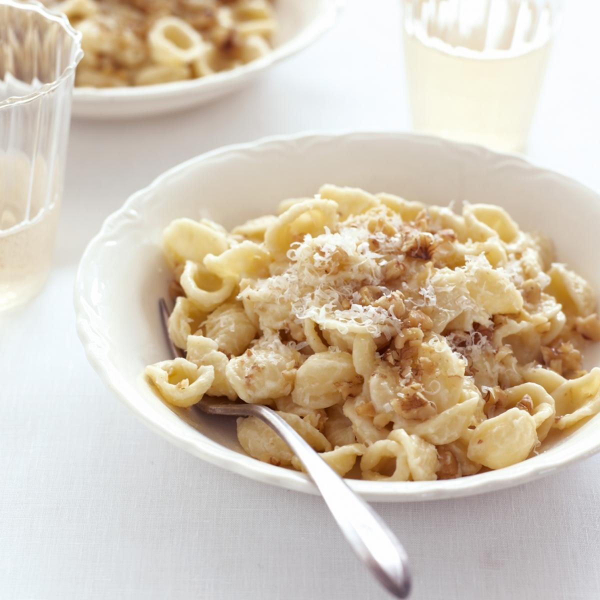 A picture of Delia's Orecchiette with Walnut Sauce recipe