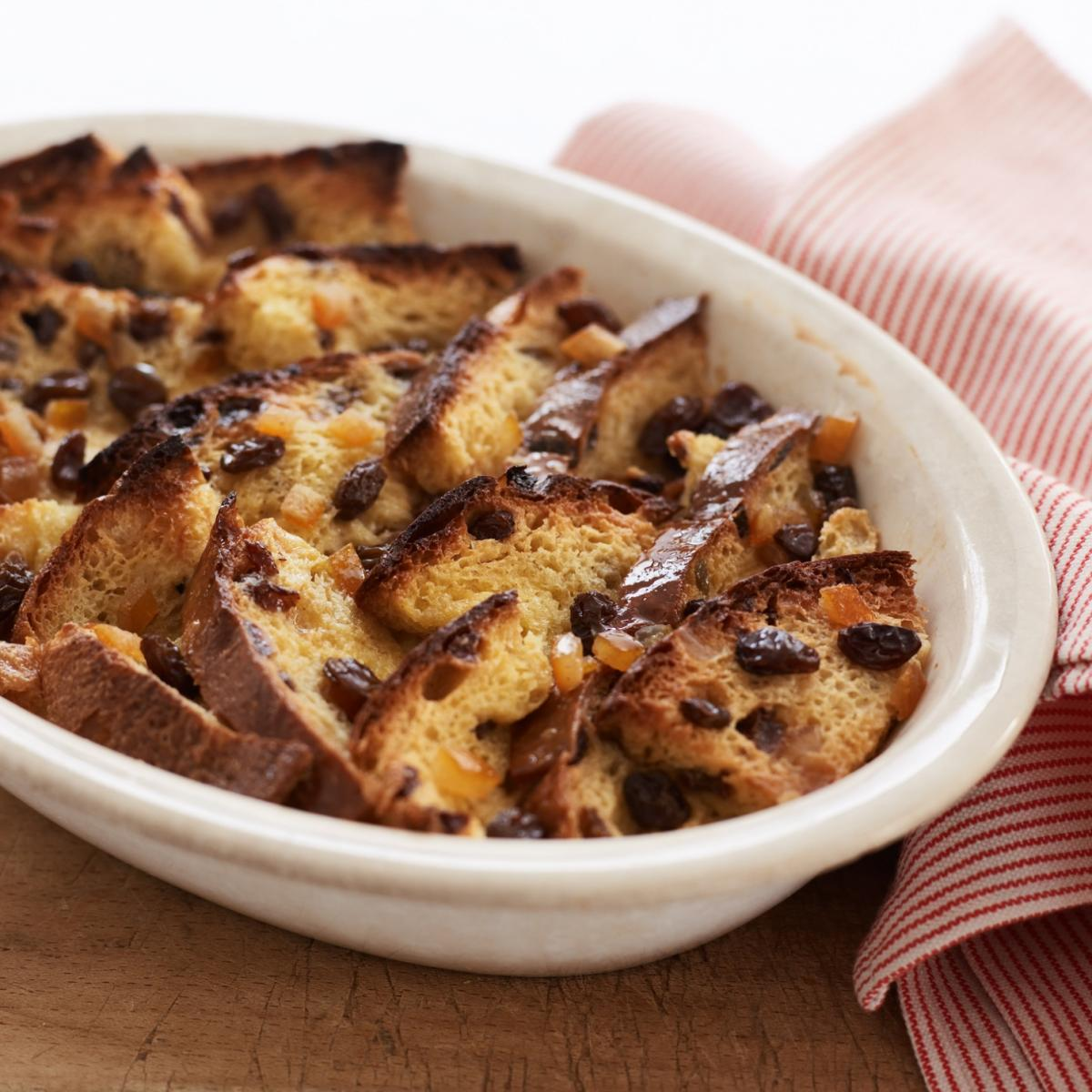 A picture of Delia's Panettone Bread and Butter Pudding with Marsala recipe