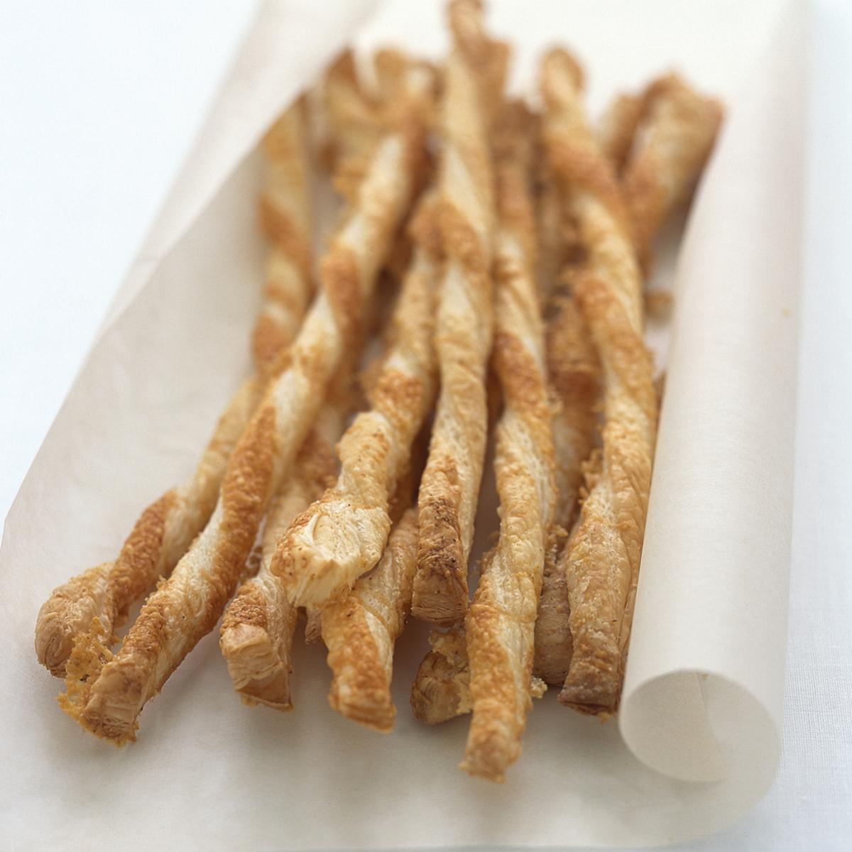 A picture of Delia's Parmesan Twists with Anchovy or Sesame and Poppy Seeds recipe