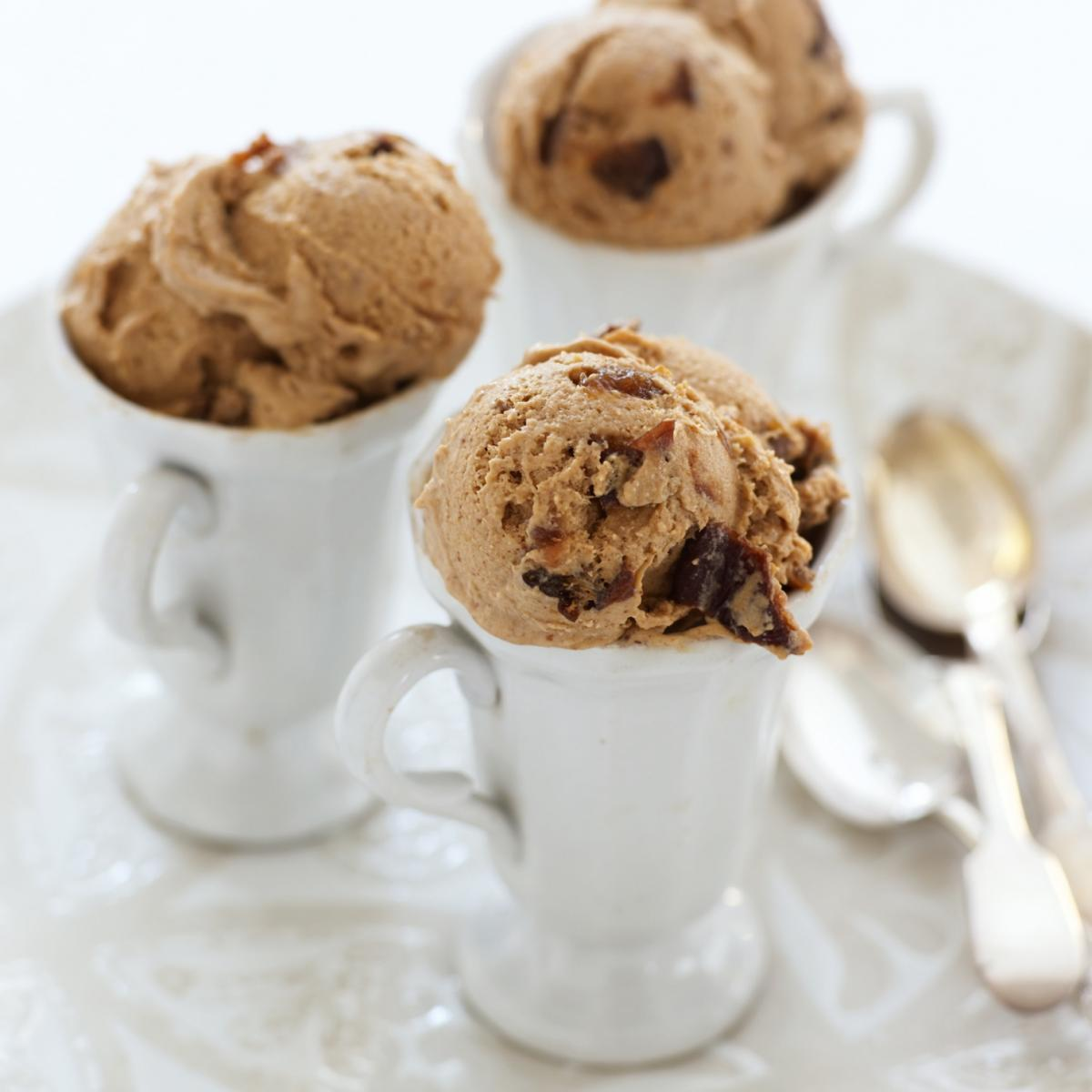 A picture of Delia's Prune and Armagnac Ice Cream recipe