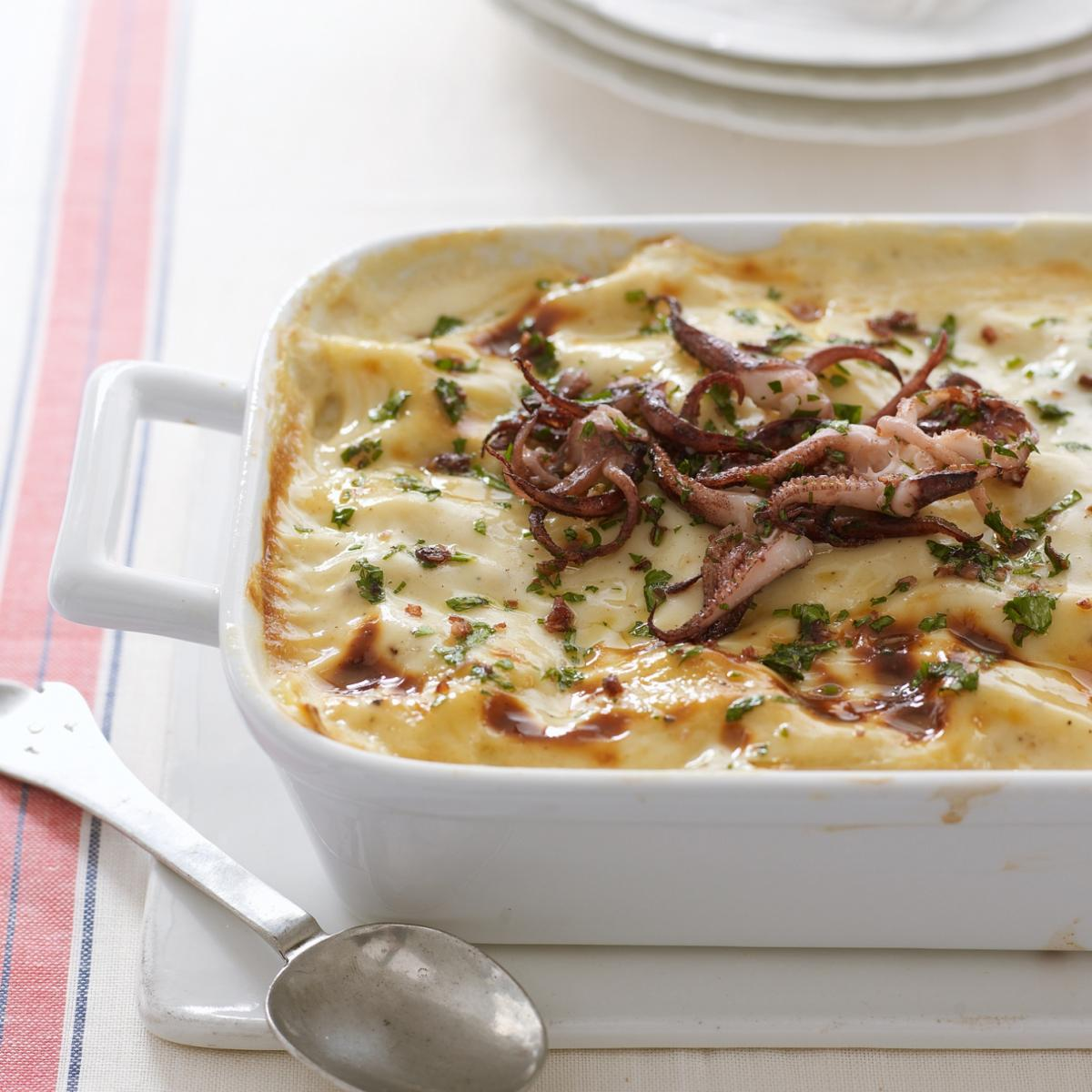 A picture of Delia's Seafood Lasagne recipe