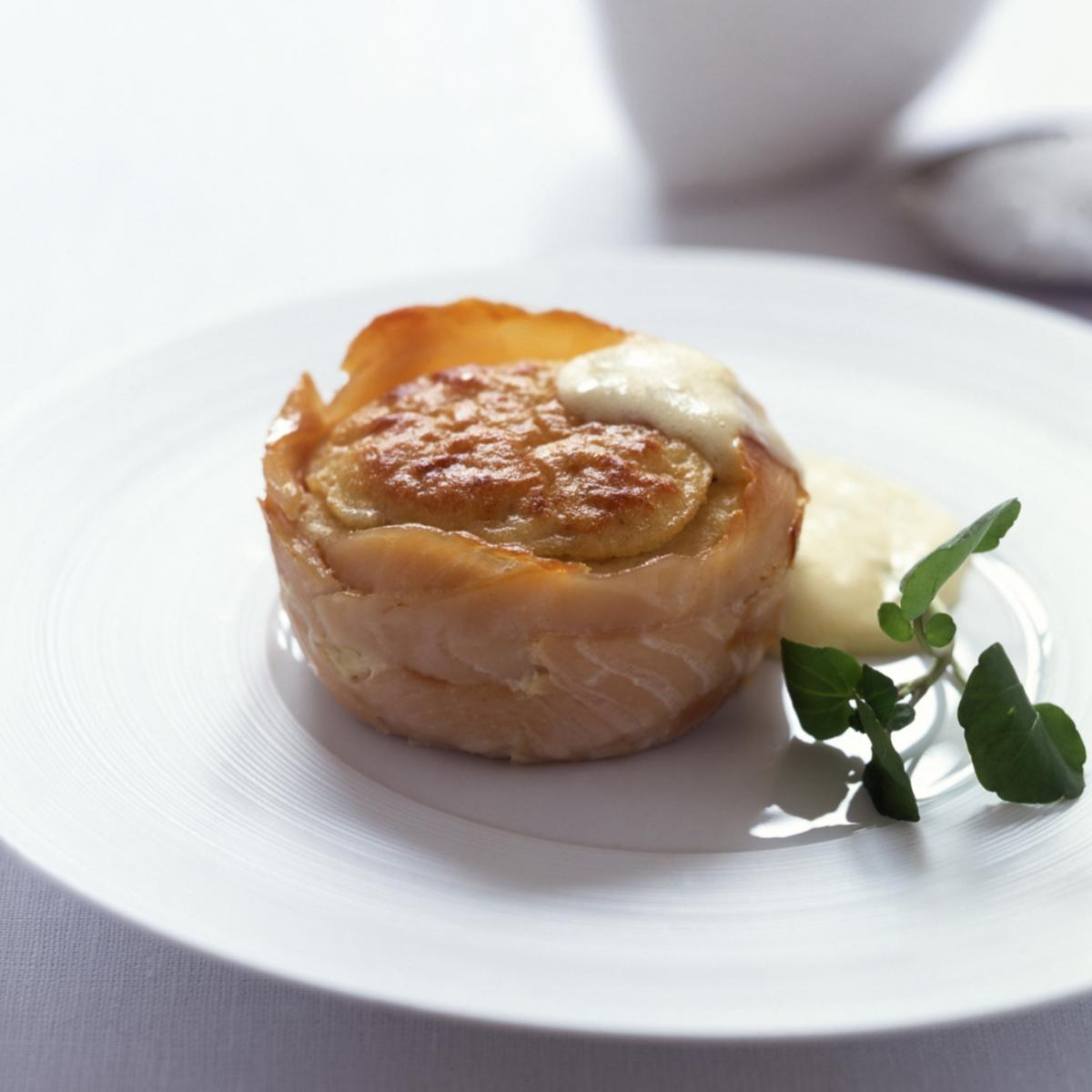A picture of Delia's Souffled Arbroath Smokie Creams (with Foaming Hollandaise) recipe