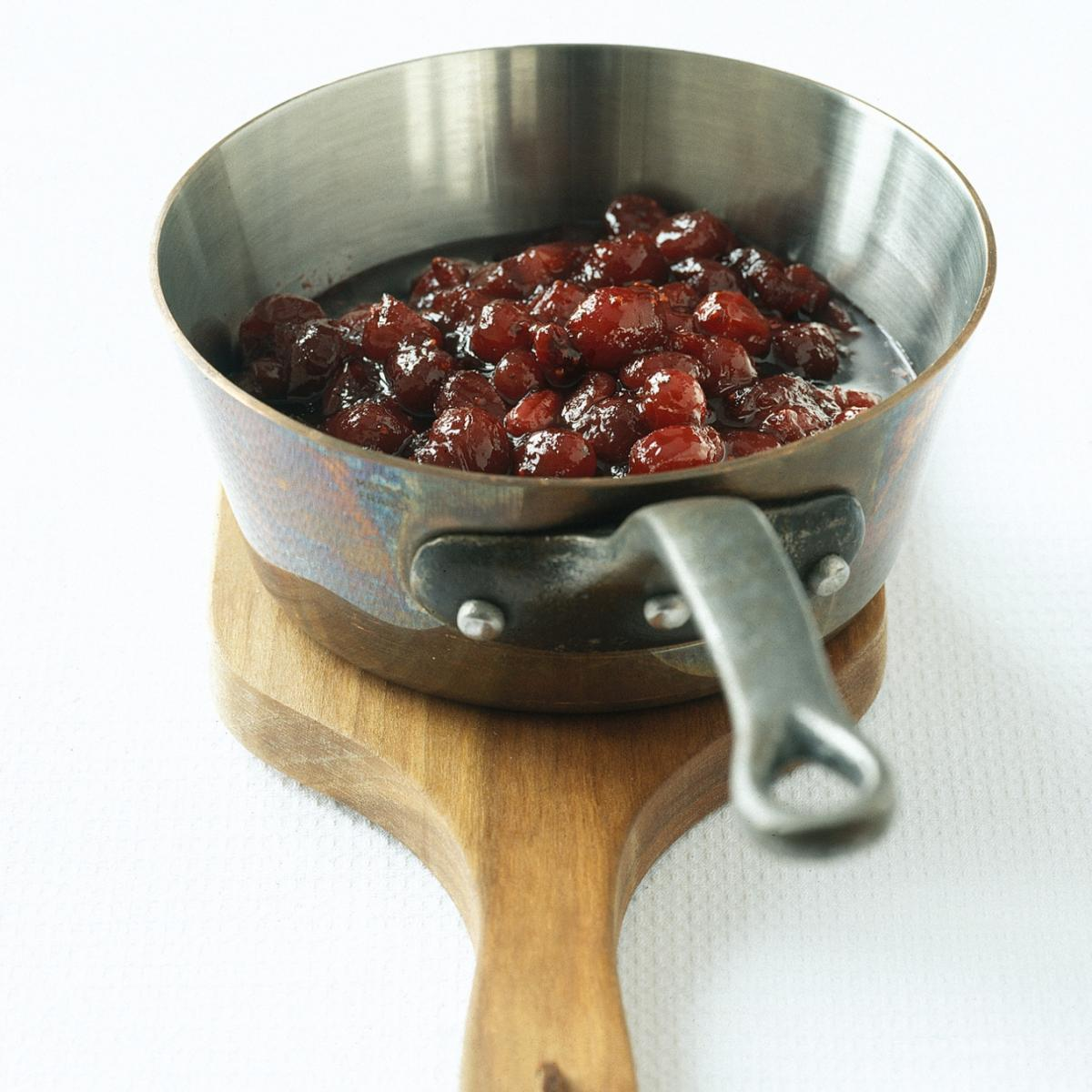 Happy spiced cranberry chutney