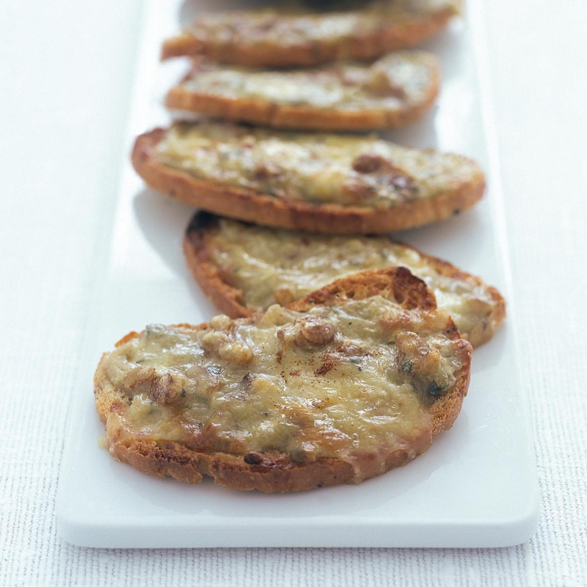 A picture of Delia's Stilton Rarebit recipe
