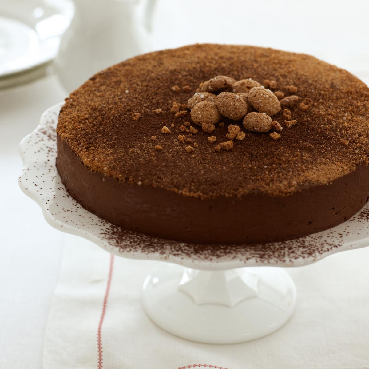 A picture of Delia's The Famous Chocolate Truffle Torte recipe