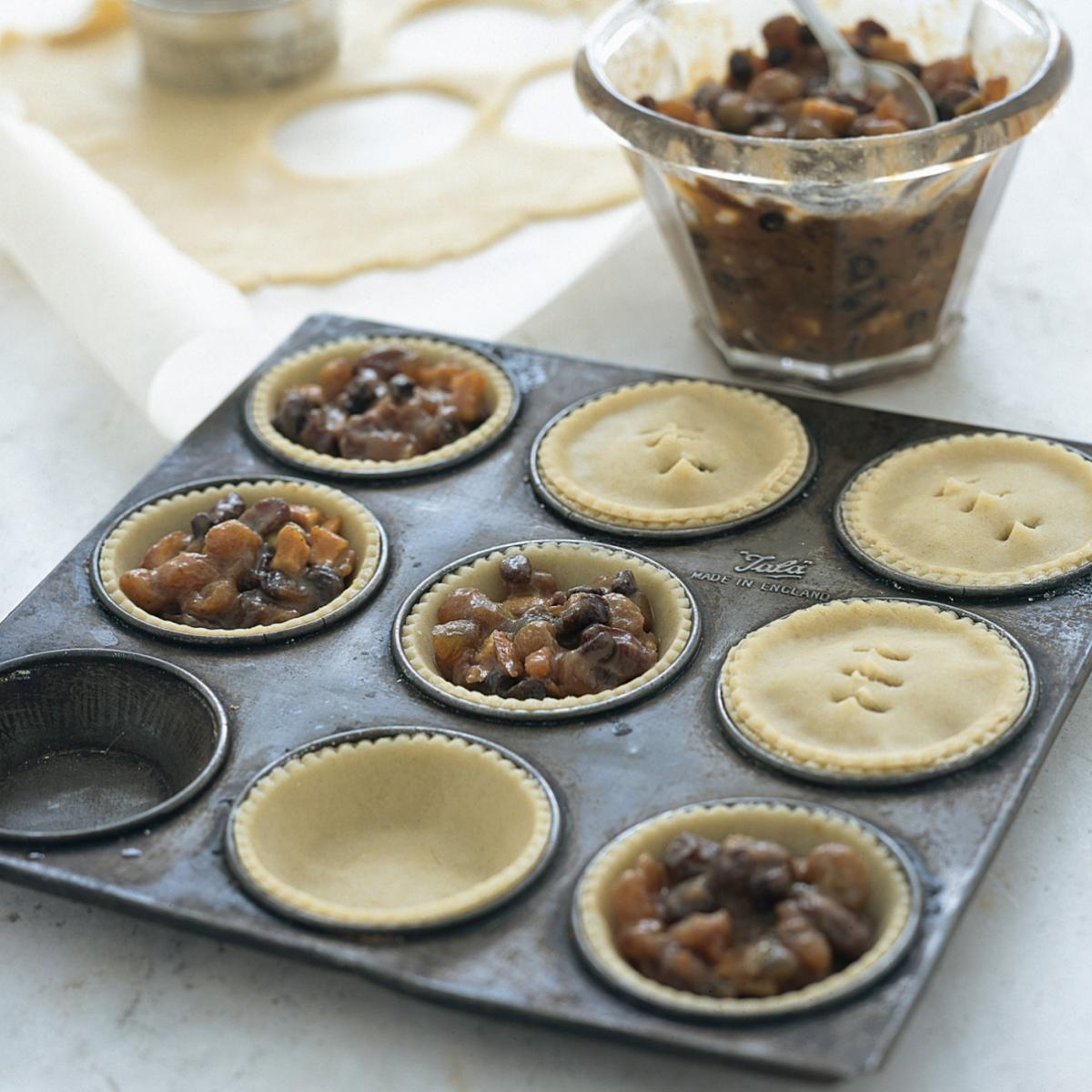 Traditional mince pies recipes delia online for English mincemeat recipe