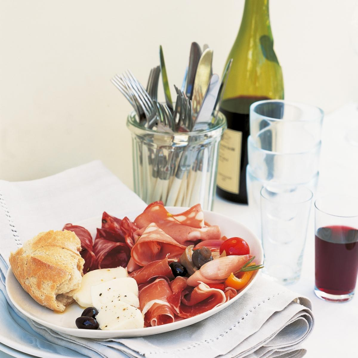 A picture of Delia's Antipasti recipe