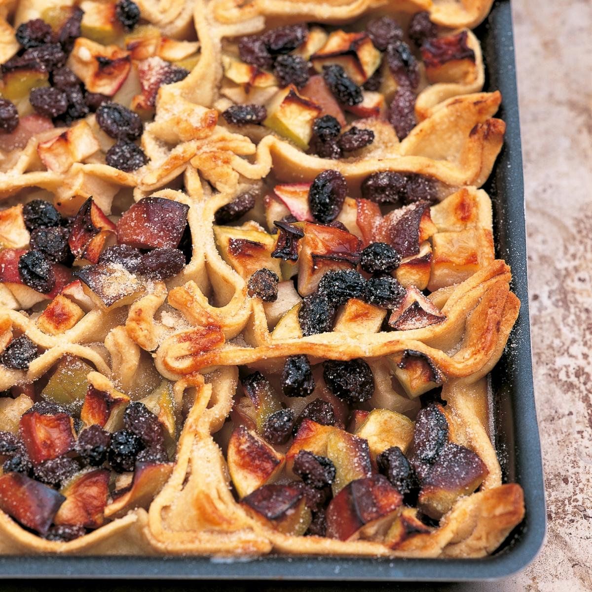 A picture of Delia's Apple and Raisin Parcels recipe
