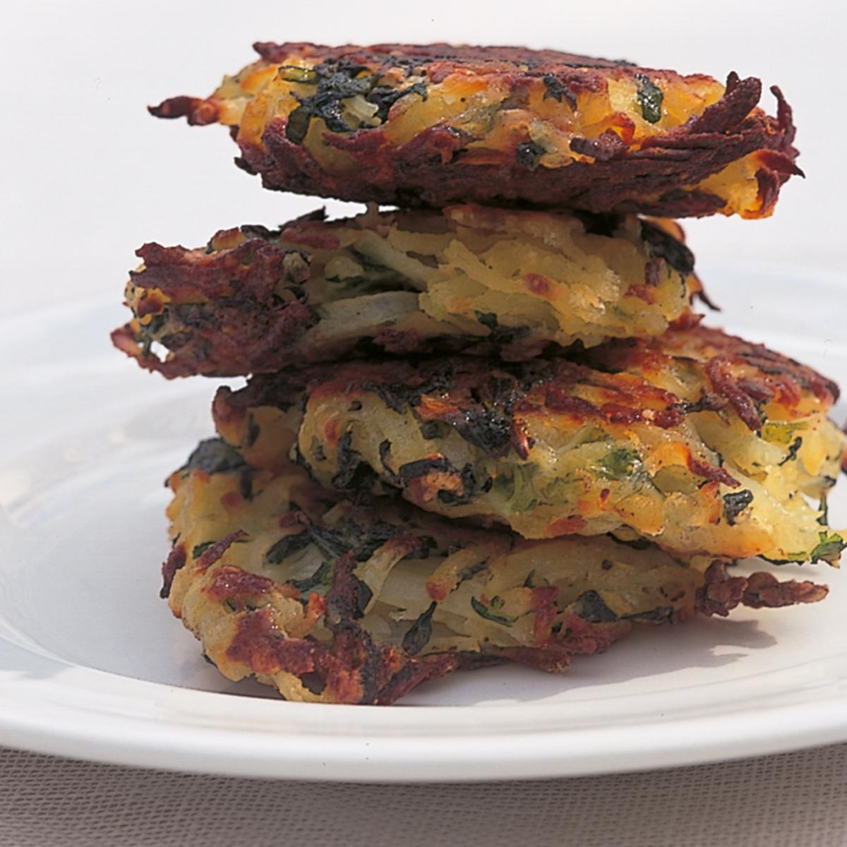 A picture of Delia's Bubble and Squeak Rösti recipe