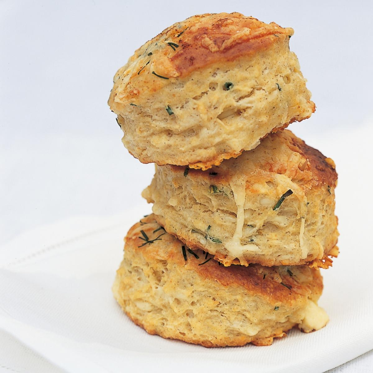 A picture of Delia's Buttermilk Scones with Cheshire Cheese and Chives recipe