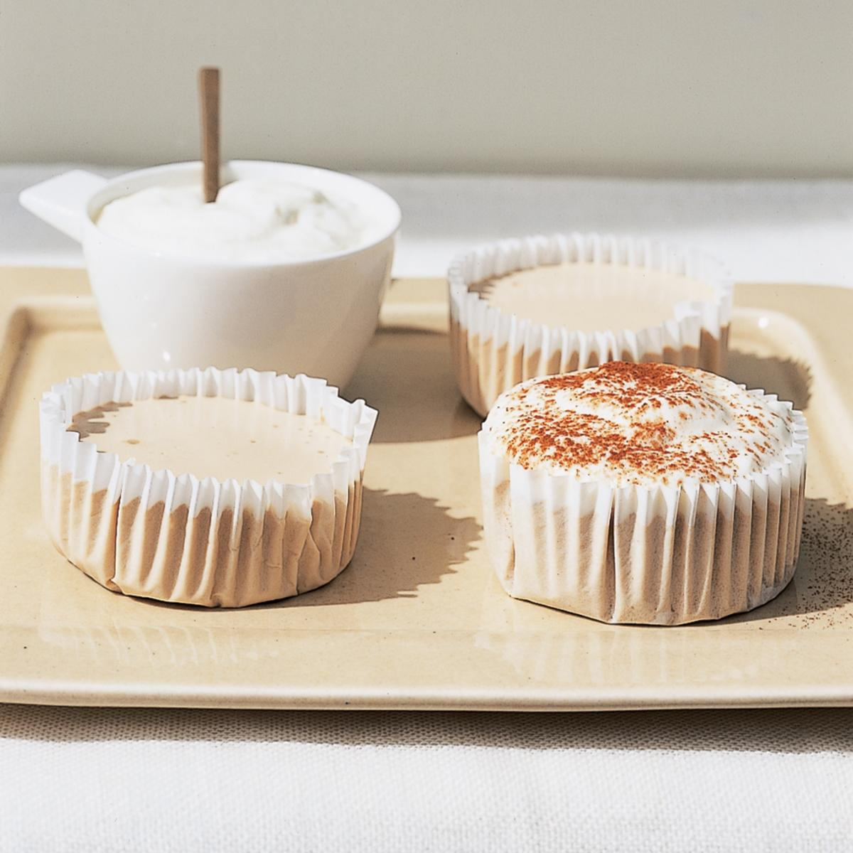 A picture of Delia's Cappuccino Cheesecakes recipe