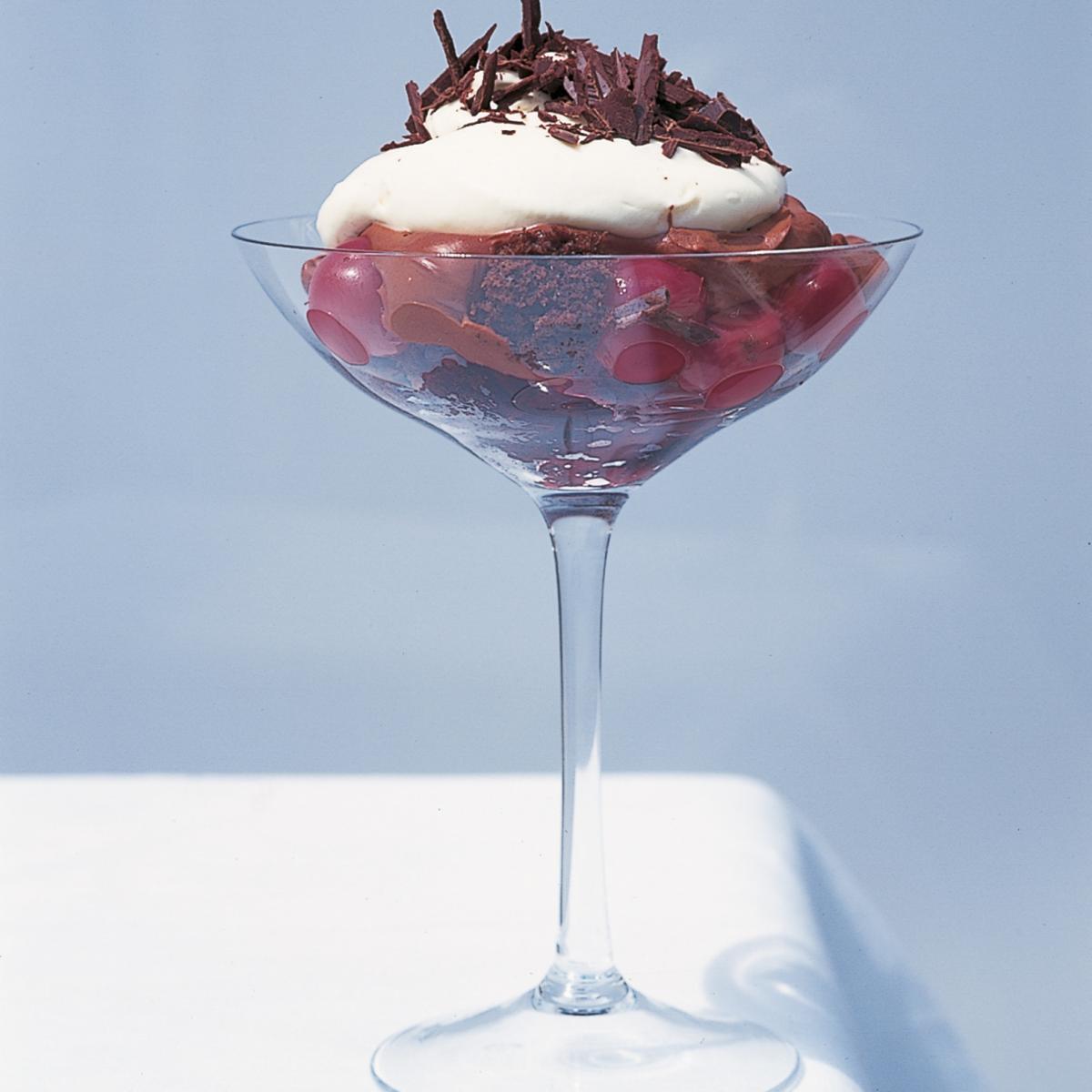 A picture of Delia's Cheats' Chocolate Trifle recipe