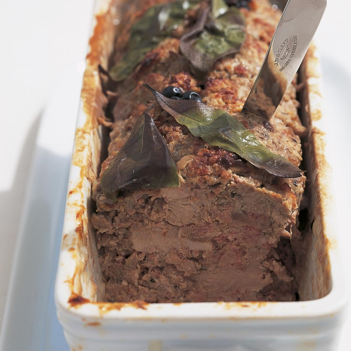 A picture of Delia's Coarse Country Pate recipe