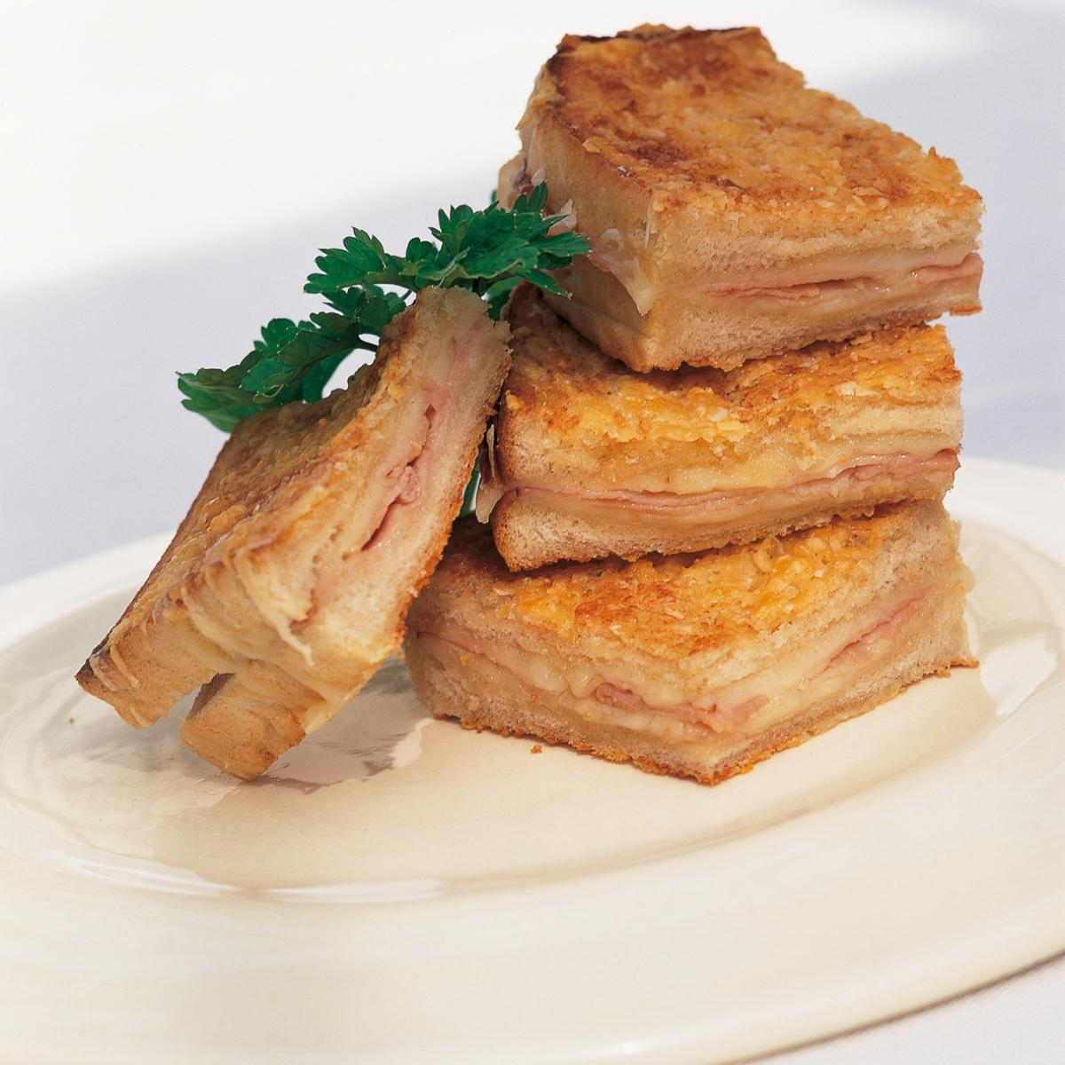 A picture of Delia's Croque Monsieur recipe