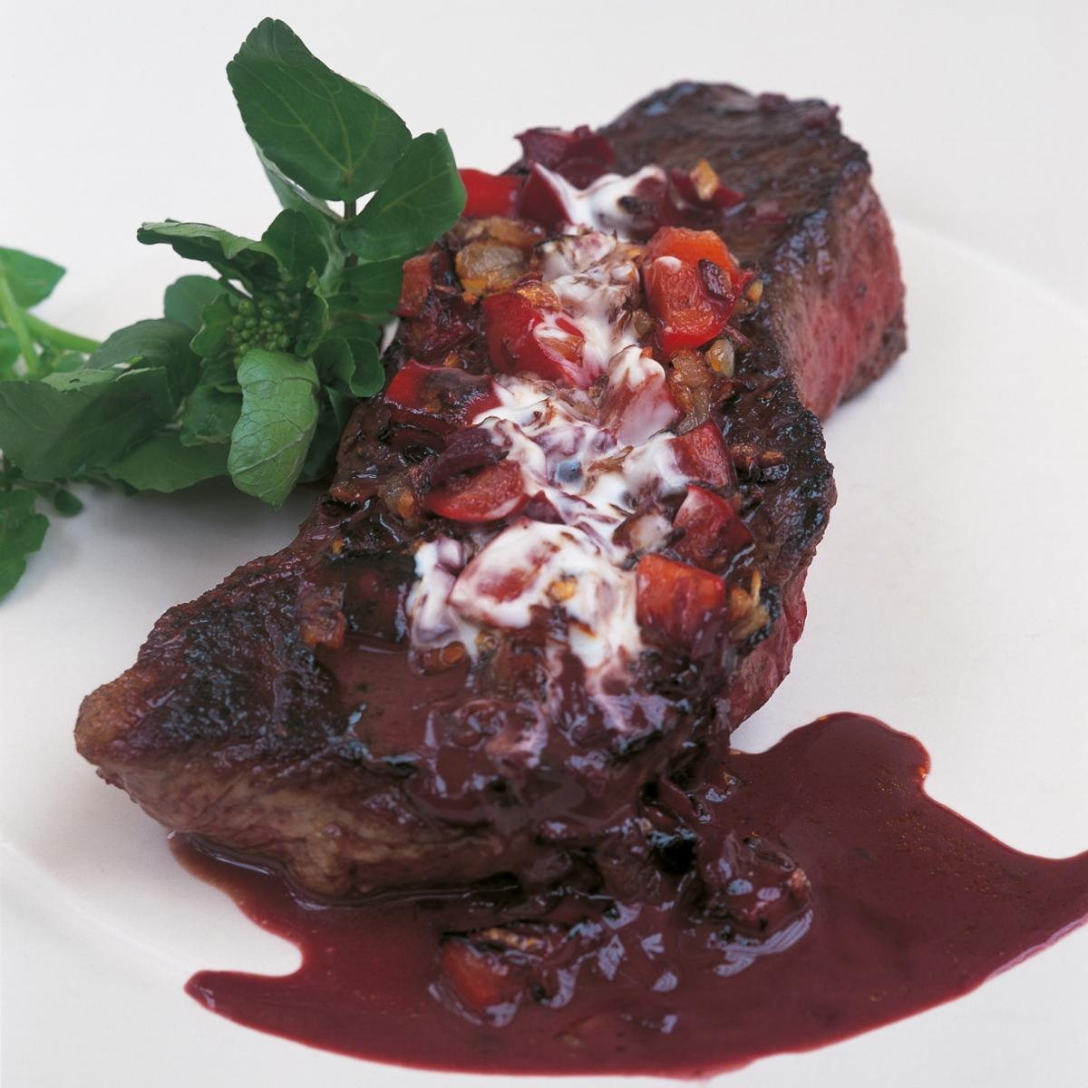 A picture of Delia's Entrecote Hongroise recipe