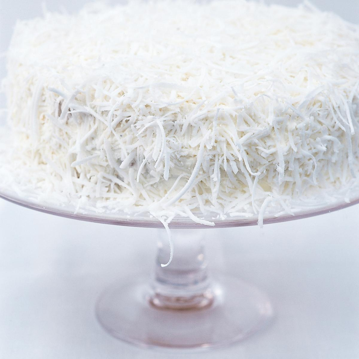 A picture of Delia's Fresh Coconut Layer Cake recipe