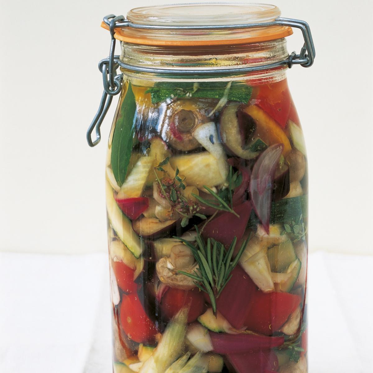 A picture of Delia's Giardiniere Pickles (Italian Gardener's Pickles) recipe