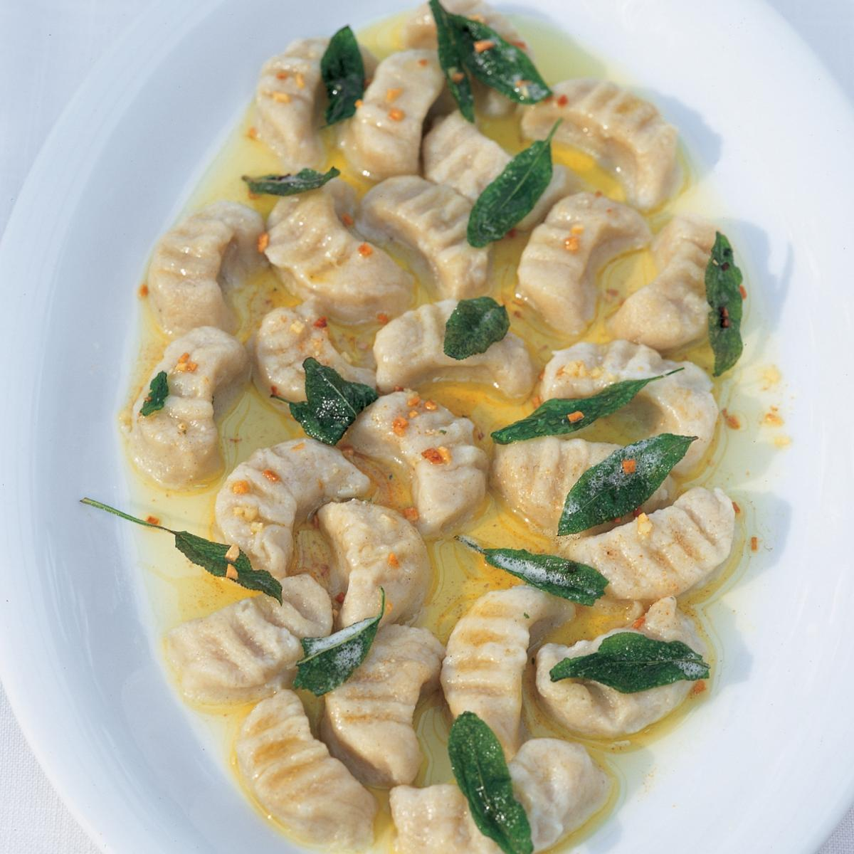 A picture of Delia's Gnocchi with Sage, Butter and Parmesan recipe