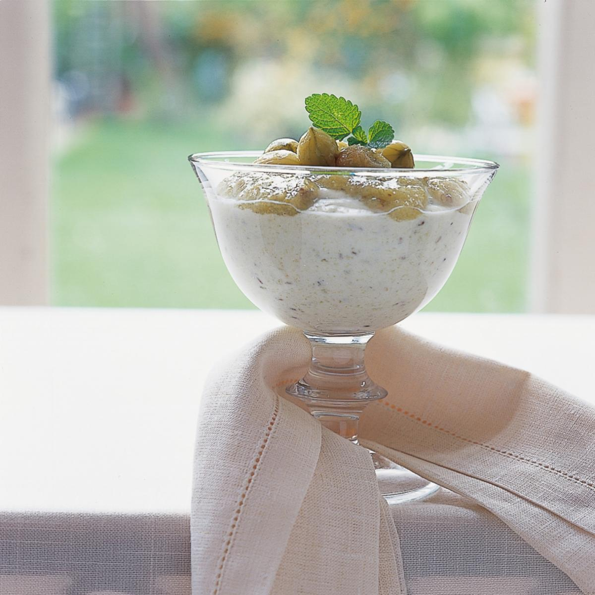 A picture of Delia's Gooseberry Yoghurt Fool recipe