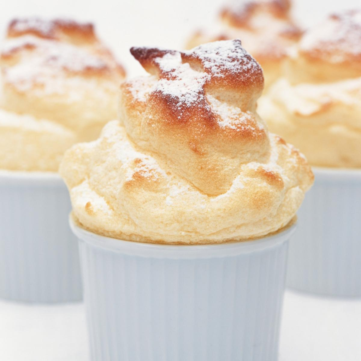 A picture of Delia's Hot Lemon Curd Souffles recipe