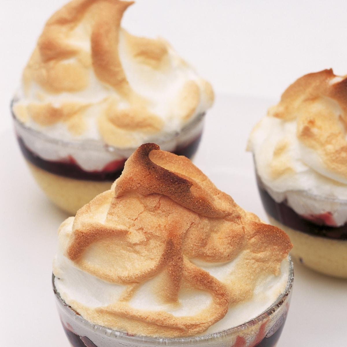 A picture of Delia's Individual Queen of Puddings recipe