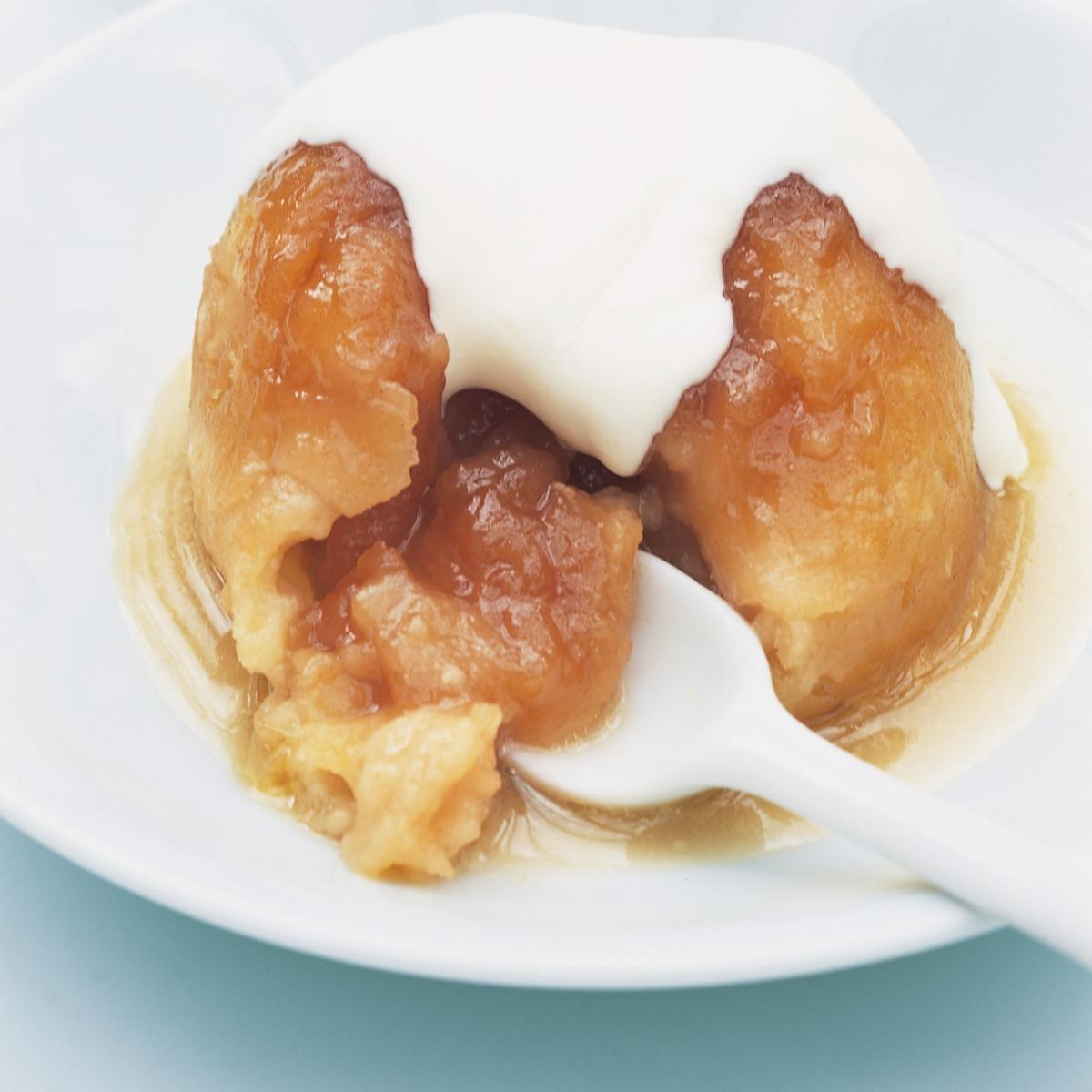 A picture of Delia's Individual Sussex Pond Puddings with Lemon Butter Sauce recipe
