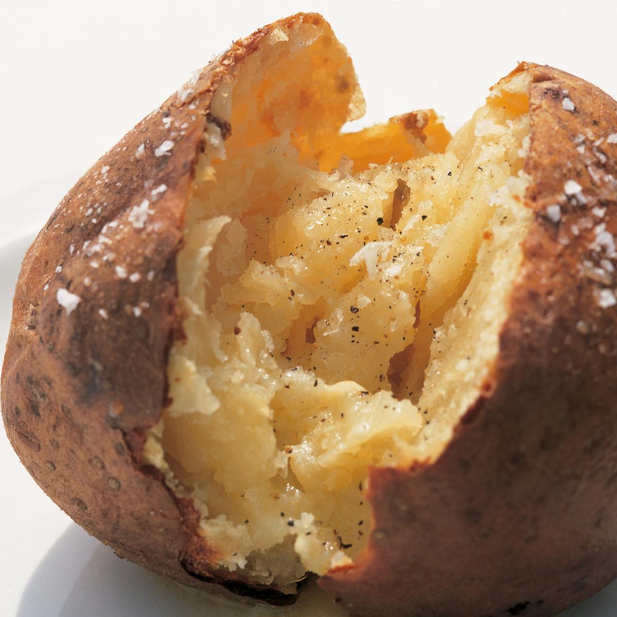 A picture of Delia's Souffled Jacket Potatoes recipe